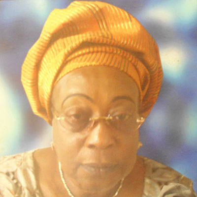 Chief (Mrs.) Adeola Omotosho 2002-2004