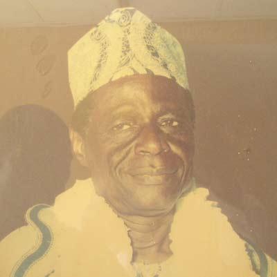 HRH Oba Adewale Kassim JP 1987-1992