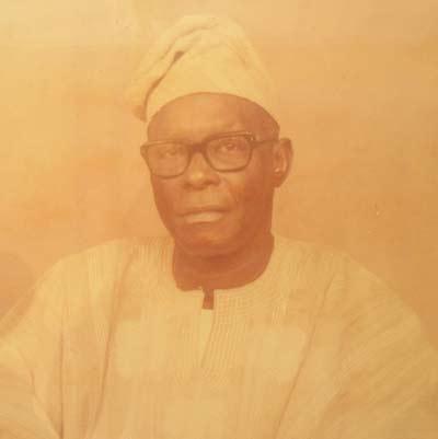 HRH Oba T.S. Saliu 1969-1970